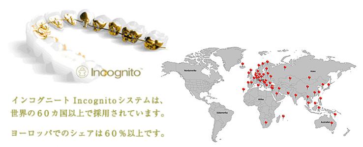 インコグニートの装置装着例